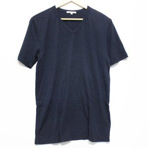 Cotton Citizen Classic V Neck Tee Super Navy